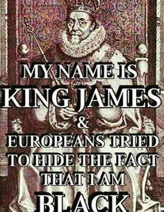 King James was a black Hebrew Israelite, the original people the bible speaks of were BLACK #HebrewIsraelites #IsraelisBLACK