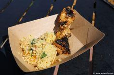 Morocco Pavilion - Taste of Marrakesh - Harissa chicken kebab with couscous salad