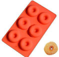 Donut Shape Silicon Baking Cake Chocolate Pudding Dessert Mold Party Wedding ** You can find more details by visiting the image link.