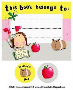 Lots of Back to School Printables