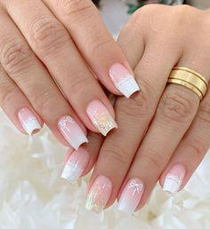 Manicure e pedicure Simple Nail Art Designs, Beautiful Nail Designs, Easy Nail Art, Acrylic Nail Designs, French Acrylic Nails, Best Acrylic Nails, Nail Picking, Manicure E Pedicure, Nagel Gel