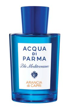 "Delicious...not a big fan of ""Fruity"" scents but THIS is sexy, sultry and sensual! I LOVE it! Blu Mediterraneo de Acqua di Parma"