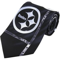 Eagles Wings EAG2320 Pittsburgh Steelers NFL Brushed Steel Mens Tie *** Find out more about the great product at the image link.