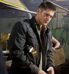 Jensen, between the scenes