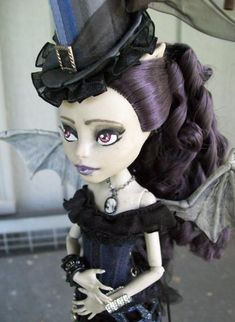 Custom Rochelle Monster High Steampunk Girl by ~macabredarling on deviantART