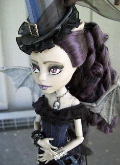 Custom Rochelle Monster High Steampunk Girl by ~macabredarling on deviantART