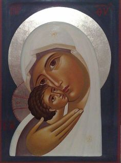 Most Beautiful Theotokos and Christ Child