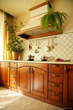 Country Kitchen Design - from Kitchen-Design-Ideas.org