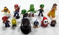 !Figur - Nintendo - Super Mario Figure collection *Få tilbage*
