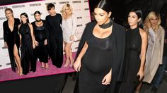 Kim Kardashian's Baby Bump Leads The Way As Her Fam Enjoys Glam Night At Cosmo Party In L.A. ––  See Them All In 11 Clicks