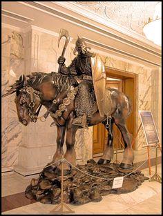 Frank Frazetta's Death Dealer statue