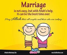 Most Common Questions Muslim Youth Ask about Marriage - About Islam Muslim Couple Quotes, Muslim Quotes, Muslim Couples, Hijab Quotes, Marriage Night, Islam Marriage, Love In Islam, Deep Thinking, Islamic Love Quotes