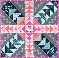 Donna Ward (@donna8b) -- a #cottonandsteelminiquiltswap winner