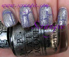 Scrangie: OPI Pirates Of The Caribbean On Stranger Tides Collection Spring/Summer 2011 Silver Shatter
