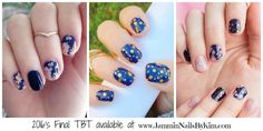 Look at this awesomeness - the final TBT wraps!!! This is Gold Fleck on Navy, Brushed Floral, and Tiffany Blue Fleck PM me asap or click to order here - they're sure to go fast!!! *** #JamminNailsByKim #NailWraps #Manicure #Pedicure #Beauty #NailArt #NailArtDesign #DIYNails #DIYBeauty #DIYNailArt #NailDesign #NonToxicBeauty #CleanBeauty #CrueltyFree #VeganBeauty #EcoFriendly #IHaveAWrapForThat #Jamberry #TBT #ThrowBackThursday #TBTBundle #GoldFleckonNavy #BrushedFloral #TiffanyBlueFleck