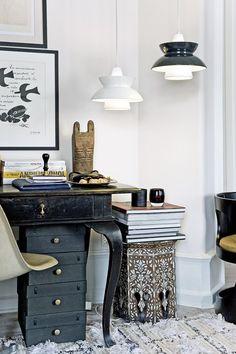 Pendant lamp / contemporary / brass / green - DOO-WOP - Louis Poulsen Lighting A/S International Beautiful Interior Design, Beautiful Interiors, Scandinavia Design, Luminaire Design, Home Lighting, Home Decor Inspiration, Decor Ideas, Decoration, Furniture Decor