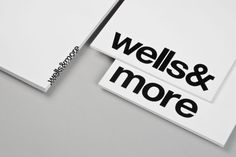 wells&more. New York state of mind – dn&co. Dark Side, Typography Design, Mindfulness, Wells, Branding, Graphic Design, York, Identity, Art Direction