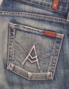7 For All Mankind 'A' pocket in New York Dark size 29 #7ForAllMankind #BootCut
