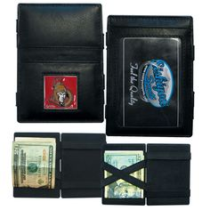 """Checkout our #LicensedGear products FREE SHIPPING + 10% OFF Coupon Code """"Official"""" Ottawa Senators Leather Jacob's Ladder Wallet - Officially licensed NHL product Genuine fine grain leather wallet Wallet secures your cash with just a flip Comes with ID and card slots Metal Ottawa Senators emblem with enameled team colors - Price: $22.00. Buy now at https://officiallylicensedgear.com/ottawa-senators-leather-jacob-s-ladder-wallet-hjl120"""