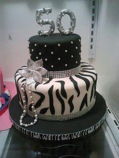 tortas de cumpleaños de mujer-50 años