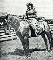 Cattle Kate July 2,1861 - July 20, 1889 - Wyoming outlaw, not violent and never charged with a crime but lynched by agents of the cattle ranchers. She threatened their interest, became a legend of the Old West.
