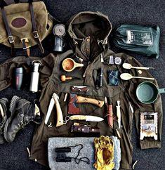 Bushcraft Survival Loadout and Men& Clothing - Clothing # . - Bug Out / Survival/ Bushcraft / Trapper / Mountain Man - Bushcraft Camping, Camping Survival, Camping And Hiking, Outdoor Survival Gear, Bushcraft Gear, Wilderness Survival, Hiking Gear, Survival Kit, Survival Skills