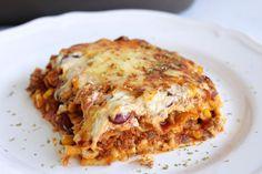 Rezepte mit Herz: Mexikanische Lasagne ♡ Chili con Carne Lasagne