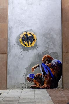 Sr. X - Mierda #Batman #SpiderMan