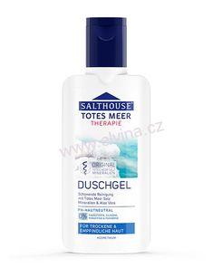 Sprchový gel z Mrtvého moře na ekzém a lupénku bez parabenů Aloe Vera, Shampoo, Aqua, Bottle, Beauty, Sensitive Skin, Shower Gel, Minerals, Cleaning