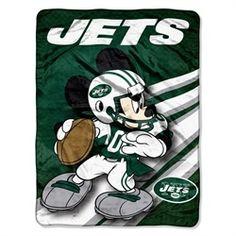 New York Jets NY Fleece Blanket Throw Large Lightweight Throw