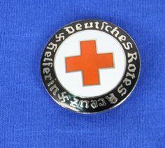 Red Cross Helferin brooch