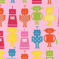 Ann Kelle - Fun Bots - She Bots in Pink