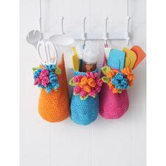 Baskets free pattern  ༺✿Teresa Restegui http://www.pinterest.com/teretegui/✿༻