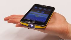 Samsung Galaxy Beam flexes projection power
