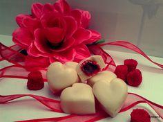 Bombones de chocolate blanco    https://es-es.facebook.com/NinaInaPasteleriaArtesanal