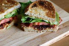 BLT with Roasted Red Pepper Mayonnaise