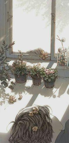 Illustration by Cynthia Tedy Pretty Art, Cute Art, Aesthetic Art, Aesthetic Anime, Illustrations, Illustration Art, Image Nice, L Wallpaper, Art Anime