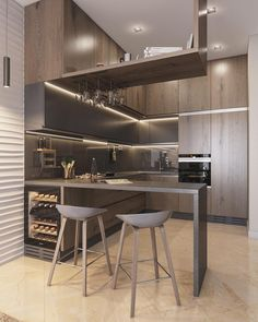 Exceptional modern kitchen room are offered on our web pages. Loft Kitchen, Kitchen Room Design, Open Plan Kitchen, Apartment Kitchen, Modern Kitchen Design, Home Decor Kitchen, Interior Design Kitchen, Kitchen Furniture, Kitchen Ideas