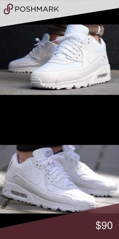 🎉🎉All white Nike Air max🎉🎉 NEW never worn Brand new Nike Air max all white... never worn....Coming soon.... if you would like a pair let me know and I'll place them on hold..... Nike Shoes Sneakers
