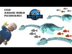 LEGO Custom Plesiosaurus Jurassic World Figure - YouTube Lego Dinosaur, The Good Dinosaur, Legos, Dinosaur Illustration, Lego Jurassic World, Artwork For Home, Cool Lego Creations, Lego Design, Lego House