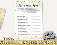 The Newlywed Game Bridal Shower The Newlywed Game Confetti Bridal Shower The Newlywed Game Bridal Shower Confetti The Newlywed Game CZXE5 #bridalshower #bride-to-be #bridetobe