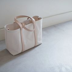 New Arrival: Cano Leather Handle Tote by Nao Takahashi—Shop › odetothings.com