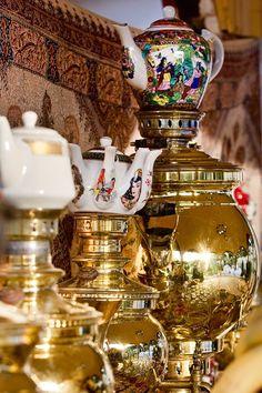 Samavor - Iran - ( Teapot set )