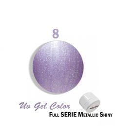 Fullcolor Metallic Shiny Lilla n.8