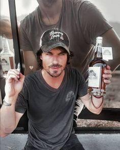 Ian Somerhalder - @brothersbondbourbon Ian Somerhalder, Vodka Bottle, Spain, Twitter, Sevilla Spain, Spanish