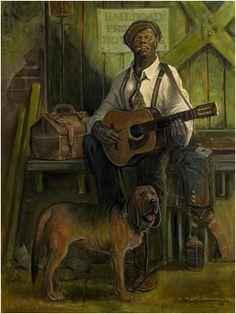 """John Carroll Doyle  """"Nothin' But A Hound Dog"""""""