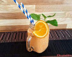 """Koktejl s mrkví a pomerančem: """"Většina lidí kteří se stravují veganskou stravou si dělají různé ovocné smoothie ale proč nezkusit i koktejl doplněný o zeleninu a vanilkové sojové ..."""" Grapefruit, Orange, Food, Essen, Meals, Yemek, Eten"""