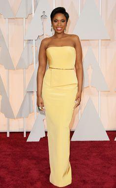 Jennifer Hudson from 2015 Oscars: Red Carpet Arrivals | E! Online