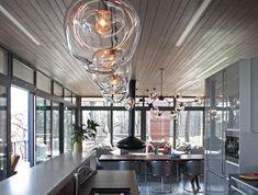 suspension-en-verre-lampes-en-verre-soufflé-pour-la-cuisine