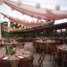 backyard wedding ceremony decoration ideas Our wedding ideas Cheap Wedding Reception, Wedding Receptions, Wedding Ideas, Reception Ideas, Wedding Stuff, Wedding Fun, Budget Wedding, Wedding Themes, Garden Wedding